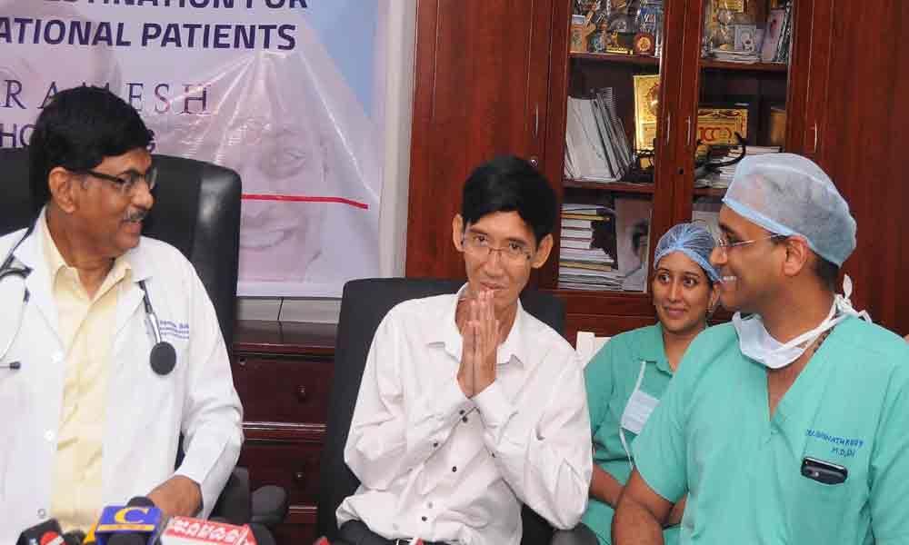 Ramesh hospital treats Cambodian with Heart problem
