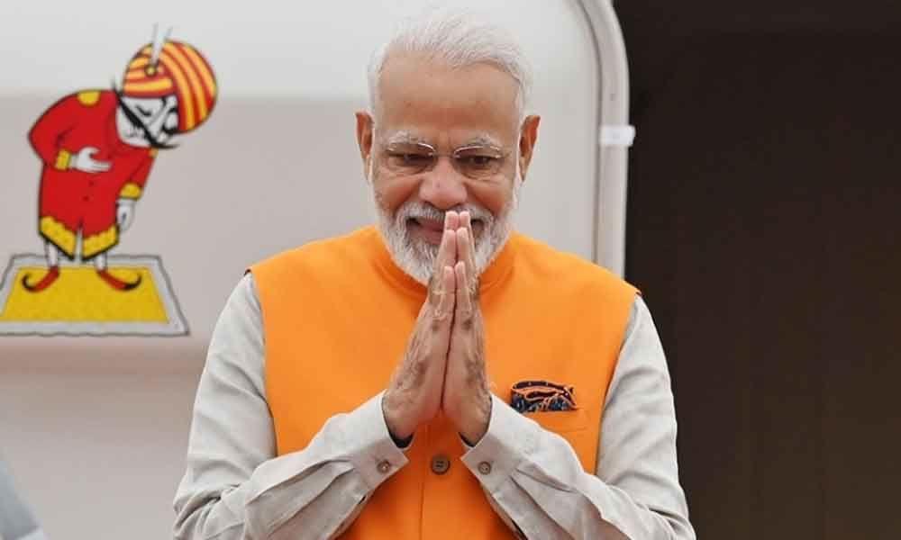 PM  Narendra  Modi arrives in Japan for G20 Summit
