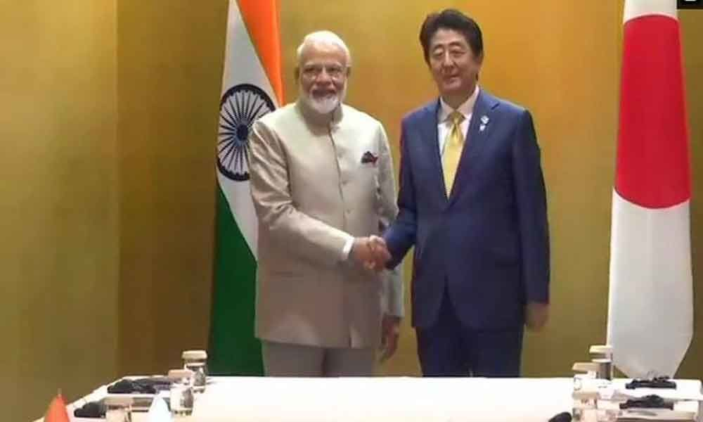 PM Modi holds talks with Shinzo Abe on sidelines of G-20 summit
