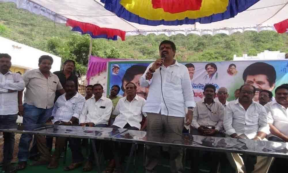 Minister Muttamsetti Srinivasa Rao opens gym in Bheemunipatnam beach