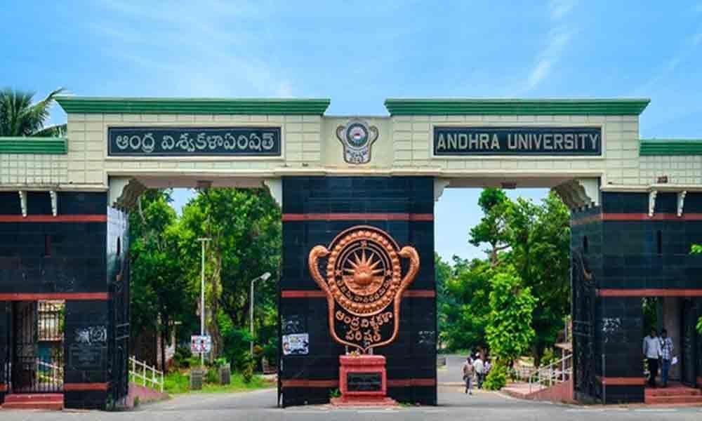 President of University of Louisville visits Andhra University