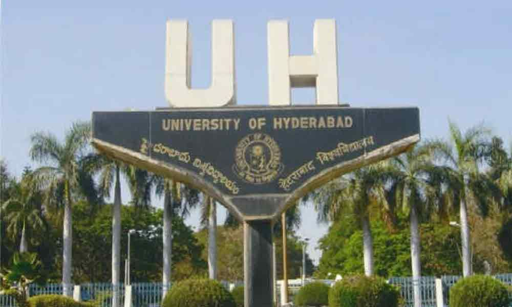 University of Hyderabad surges ahead, to secure top rank