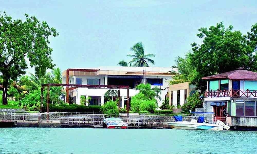 AP government to demolish Chandrababu Naidus residence in Amaravati