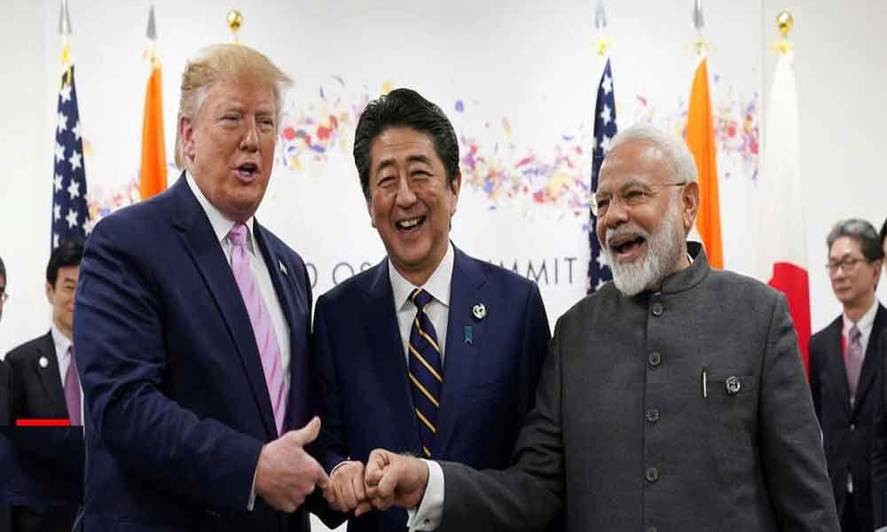 PM Narendra Modi calls trilateral meet with Shinzo Abe, Donald Trump