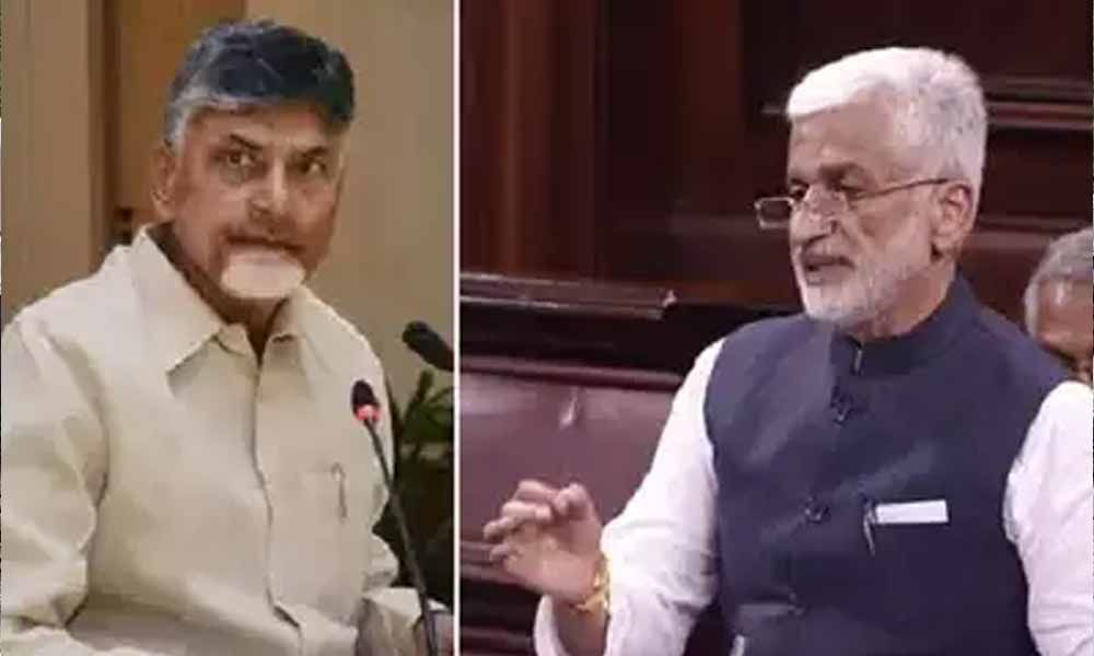 MP Vijayasai Reddy sensational comments on TDP chief