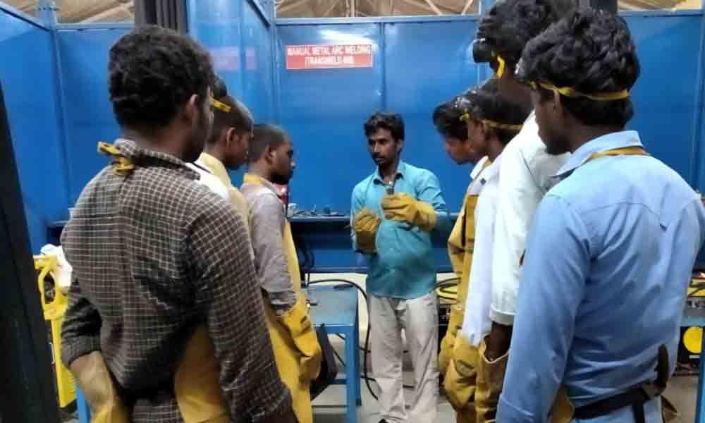 Skill development training for polytechnic students begin in Tirupati