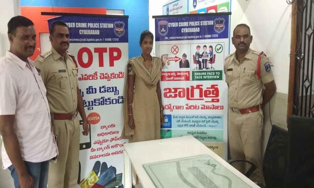 Awareness programme held on cybercrimes