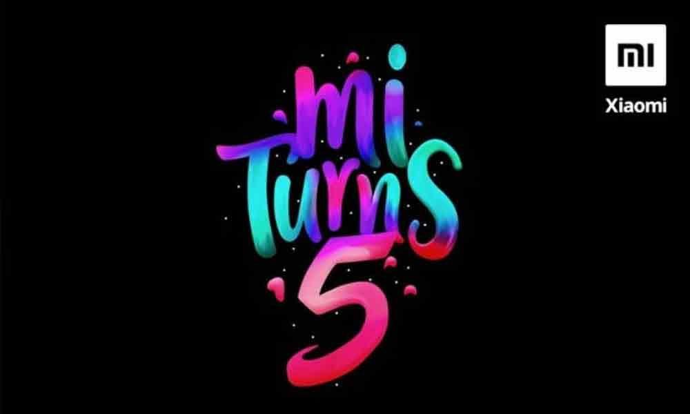 Mi Turns 5, to celebrate the birthday on 15 July