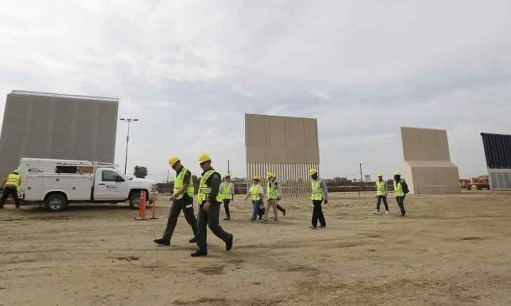 Judge bars Trump from using  USD 2.5 billion to build border wall