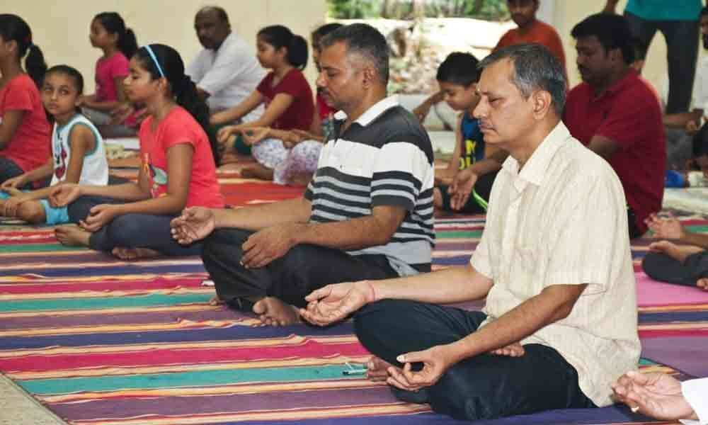 International Day of Yoga concludes at NSTL