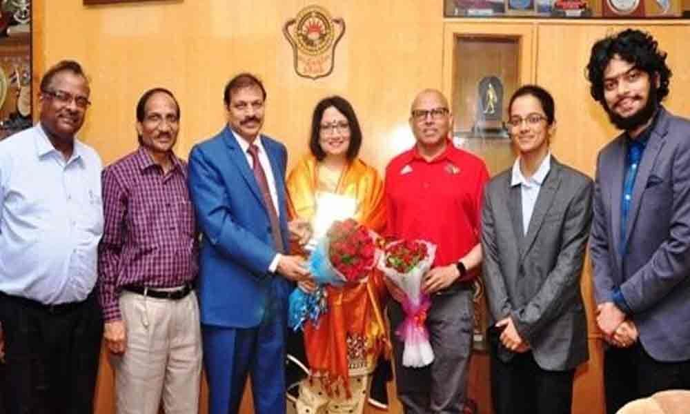 Andhra University to collaborate with University of Louisville for research