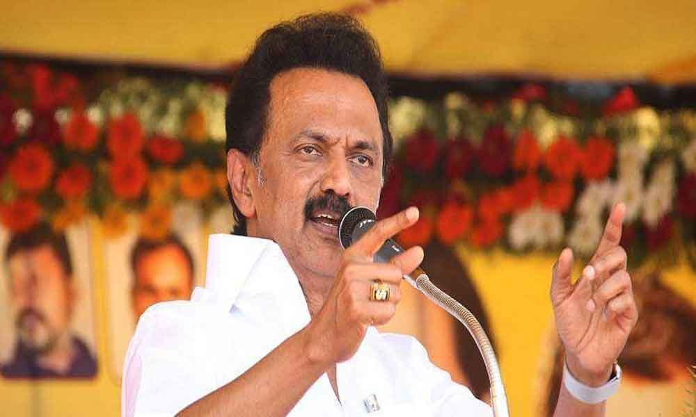 M K Stalin defends move to go back on  resolution against  Tamil Nadu Assembly Speaker