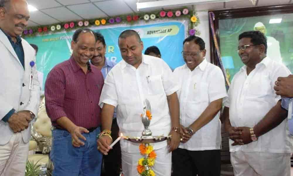 Government striving for employment to youth: Minister Vellampalli Srinivas
