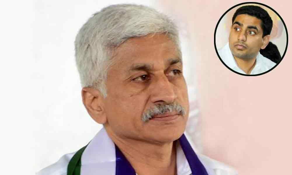 YSRCP MP Vijayasai Reddy counter tweets on Nara Lokesh