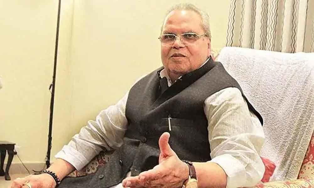 Jammu and Kashmir Governor Satya Pal Malik attends Pratham Puja at Amarnath cave shrine