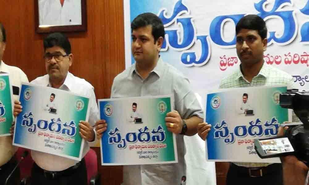 Visakhapatnam: Spandana assures transparency in admin