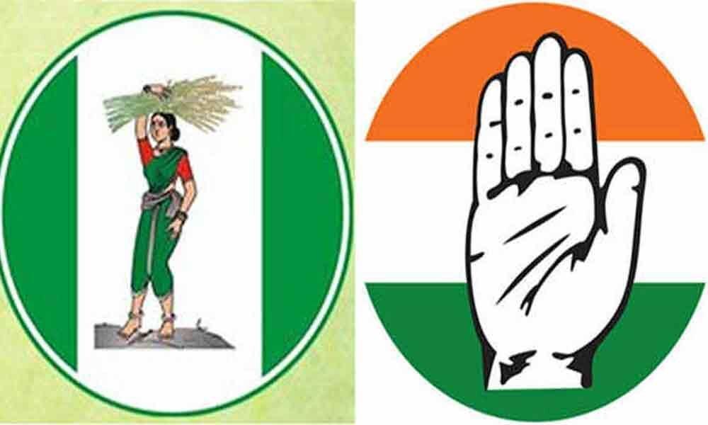 JD(S) - Congress surviving on slim majority in Karnataka
