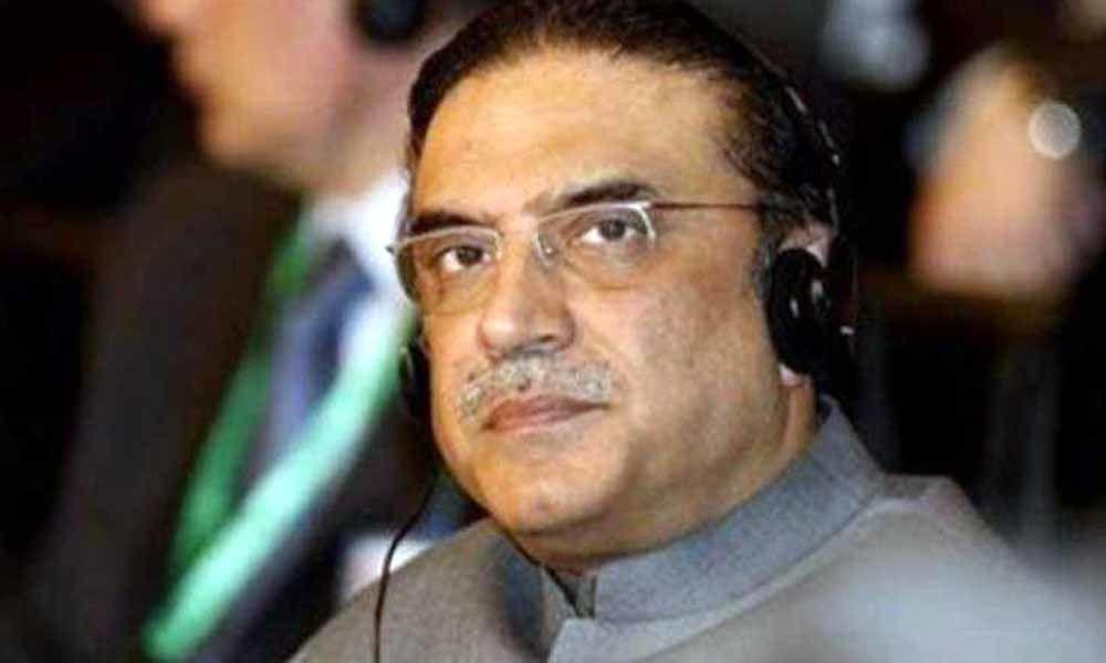 Pakistani news channel stopped from airing jailed ex-prez Asif Ali Zardari