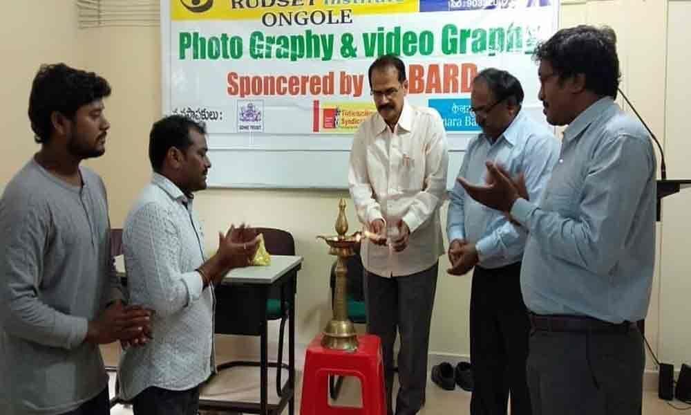30-day training programme on photography inaugurated RUDSETI