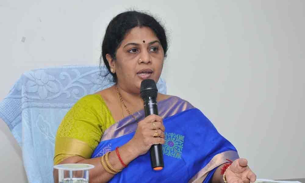 MayorPantham Rajani Sesha Sai elaborates achievements
