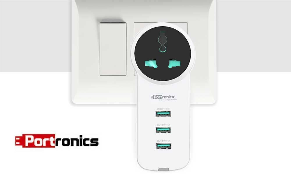 Portronics Launches Unipower - Universal Charging Hub cum Travel Power Strip