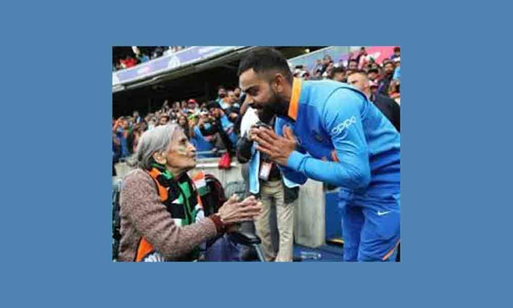 Kohli promises match tickets