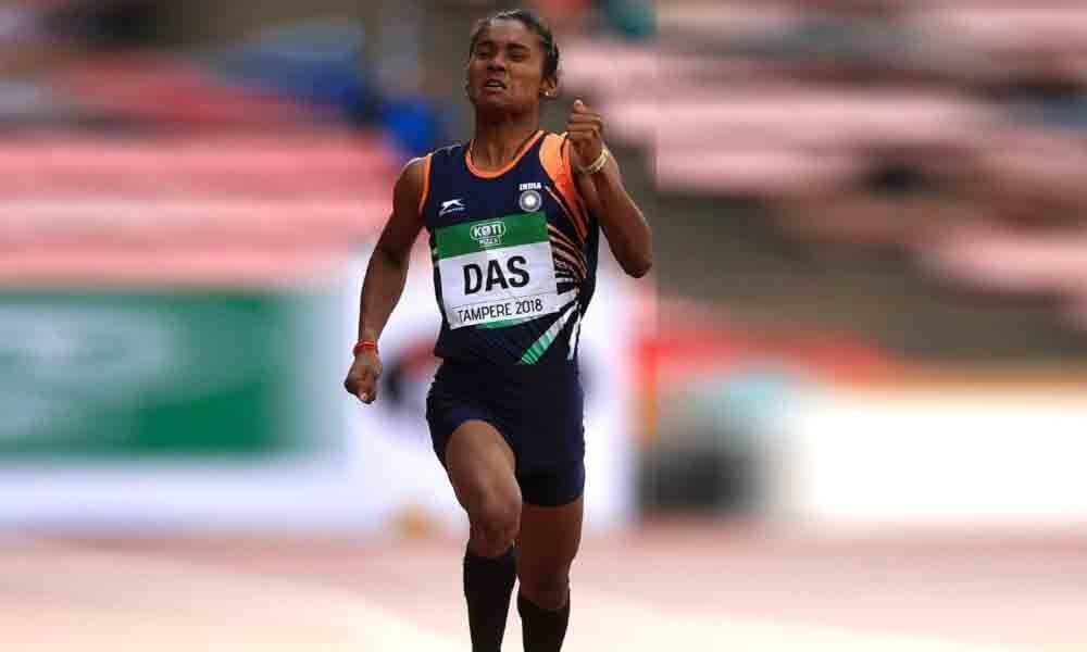 Hima Das wins 200m gold in Poland