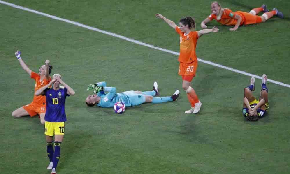 Groenen strikes to take Netherlands through to World Cup final against USA