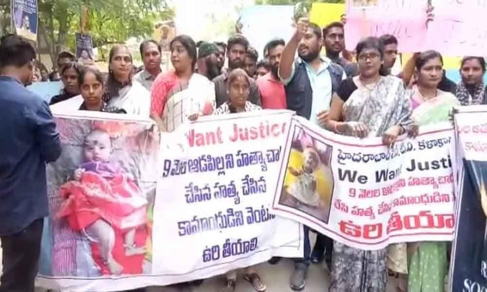Activists demand death for rapist
