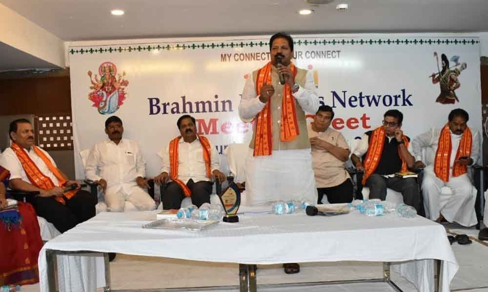 Brahmins told to move ahead in business, politics
