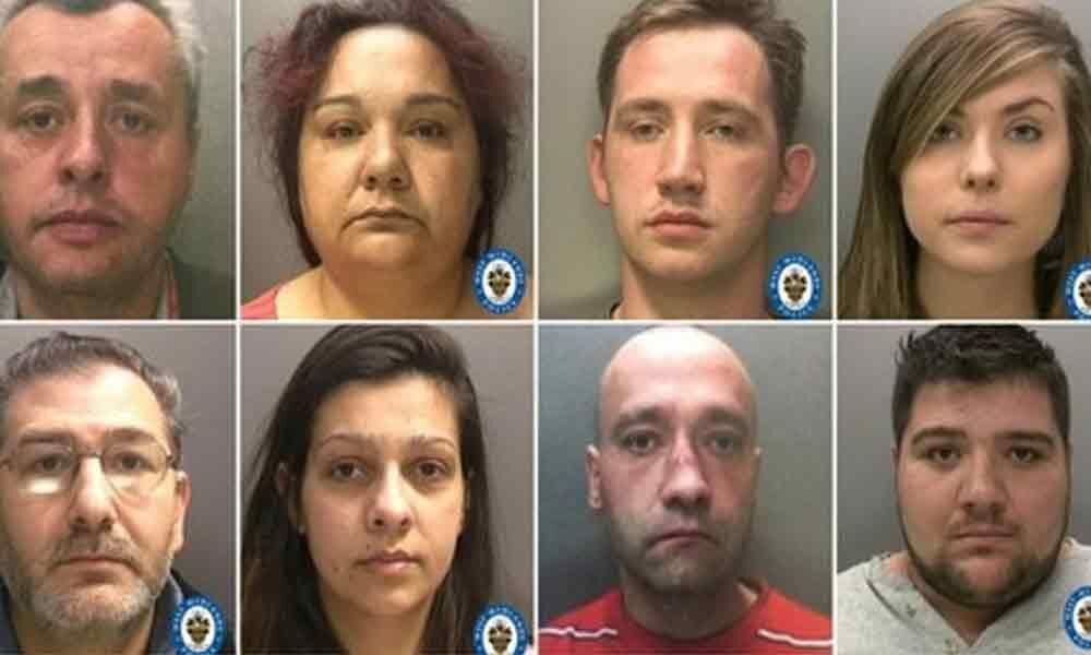 Poles jailed over UK