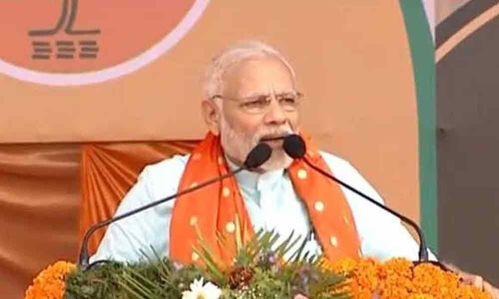 Modi launches plantation drive, unveils Shastri bust in Varanasi