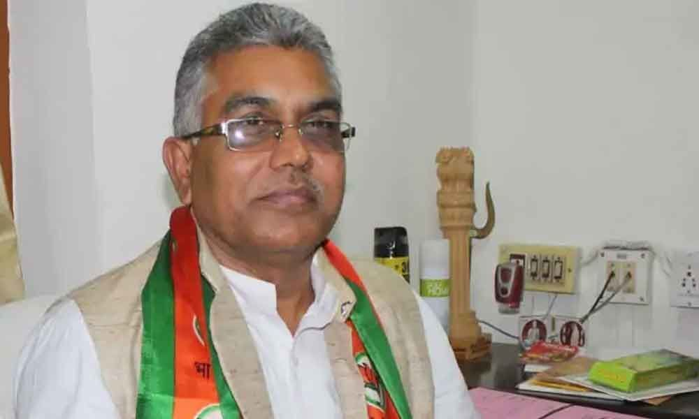Bengal BJP chief Dilip Ghosh hits out at Amartya Sen over comment on Jai Shri Ram slogan