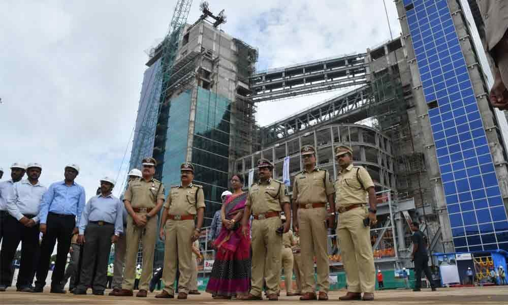 Police Command Centre construction picks up pace