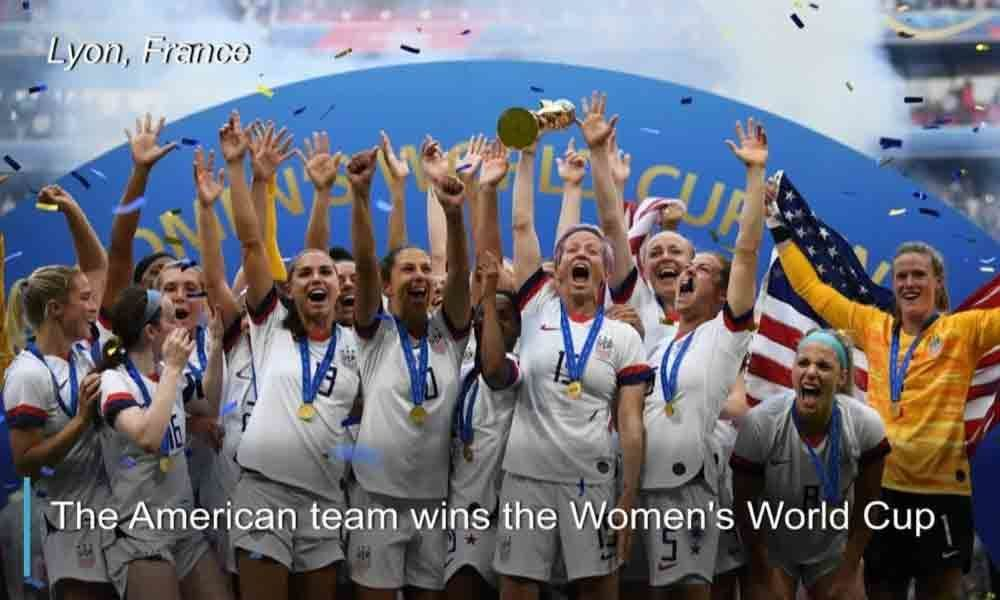 US rejoices after women