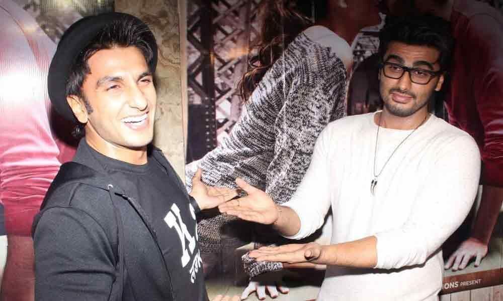 Ranveer is the original chocolate boy of Bollywood, says Arjun