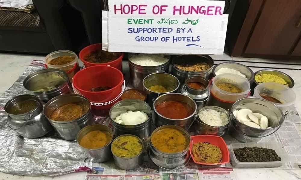 Feeding the needy, NGO shows the way