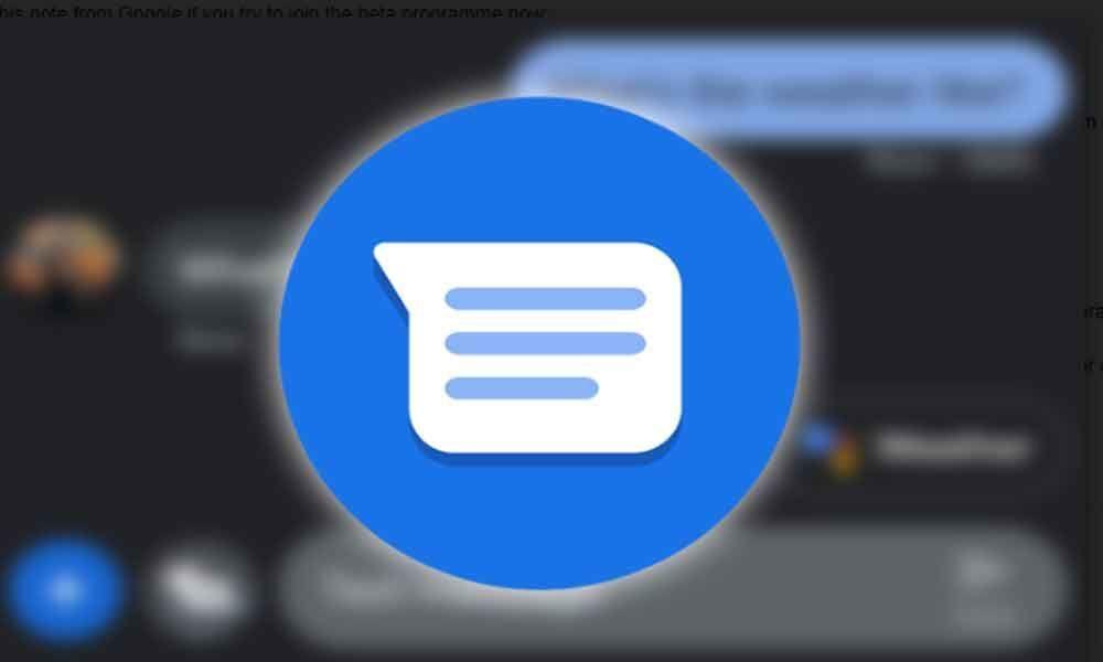 Google Starts Open Beta Programme for Messages App
