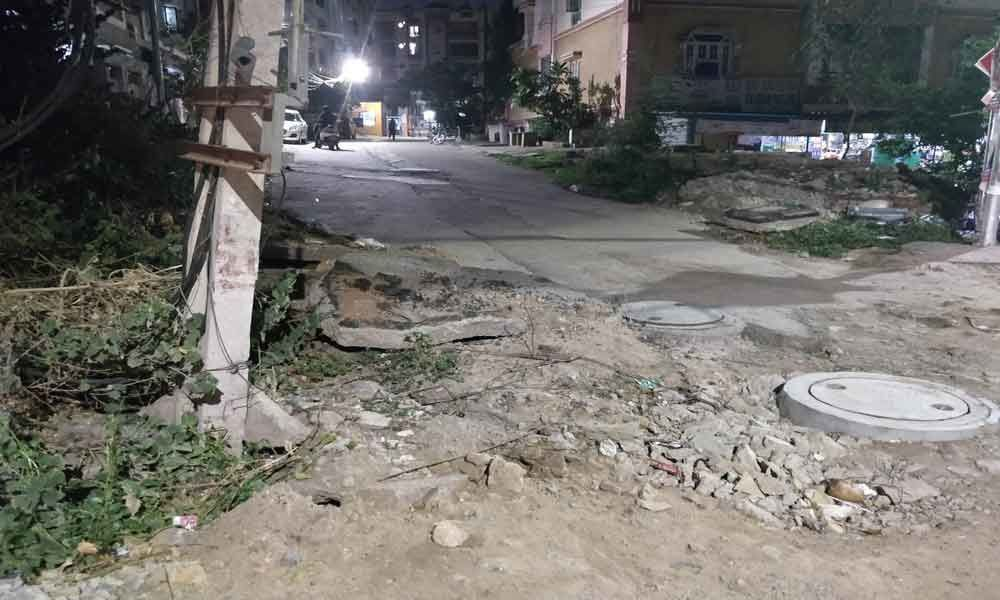 Locals protest as road not restored