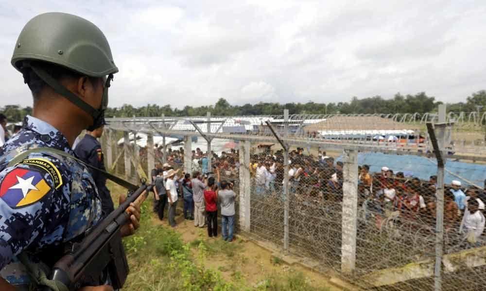 Singapore detains Myanmar nationals accused of rebel links