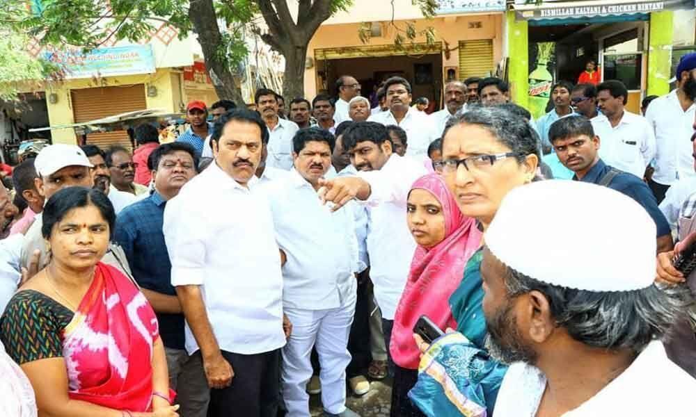 Maganti, Madhavaram study drainage situation