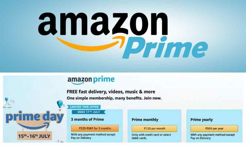 Get Amazon Prime Subscription at Just Rs 499 Per Year