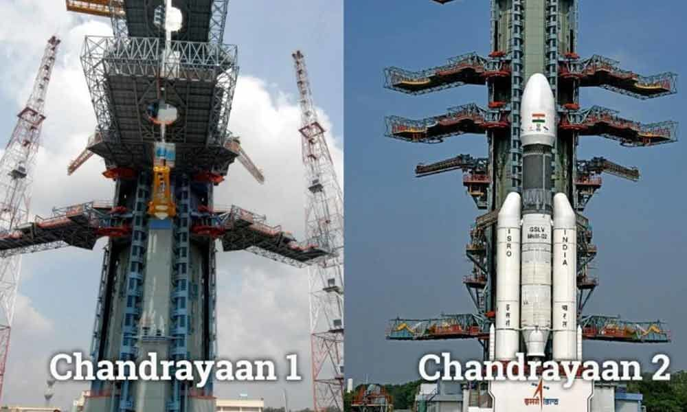 Chandrayaan-1 vs Chandrayaan-2