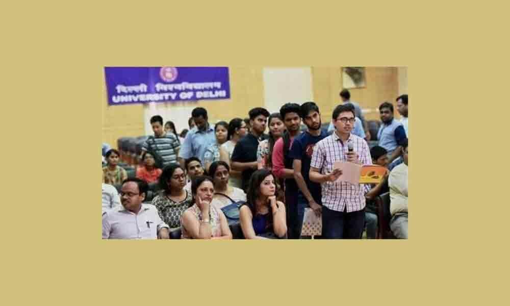 B Com sees highest number of admissions in Delhi University so far