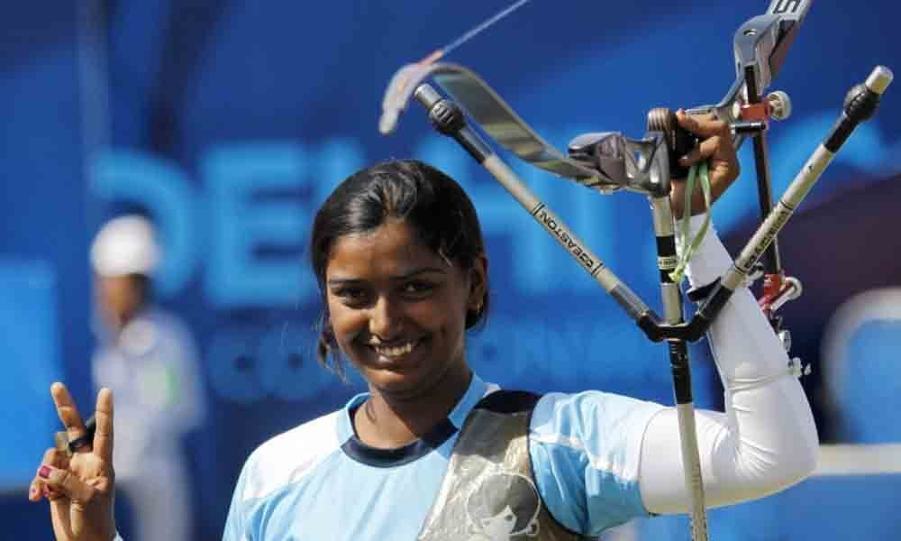 Deepika 4th in qualifications of Tokyo Olympic test event