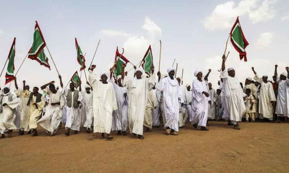 Thousands mourn protesters killed in Sudan raid