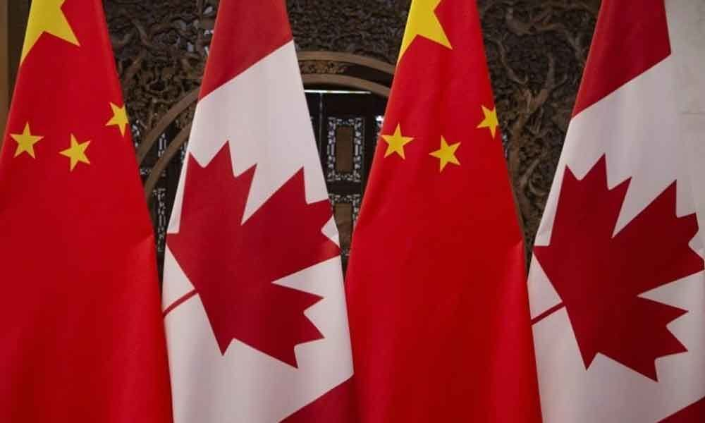 Canada says another citizen detained in China amid row  Montreal