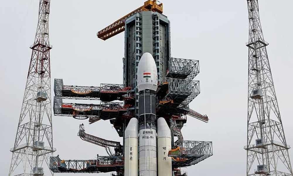 Salutes to ISRO scientists behind moon mission