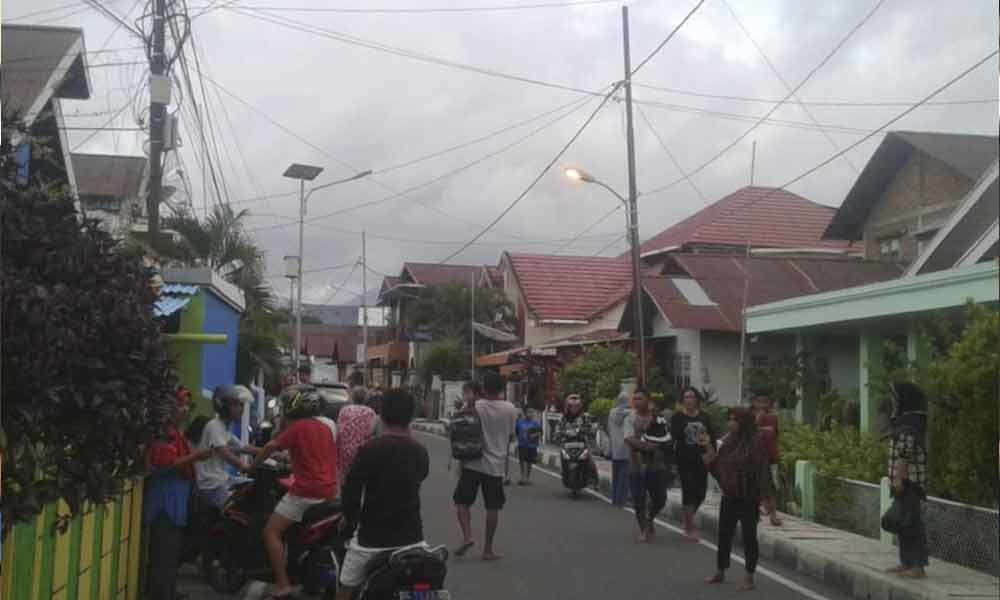 Two people dead, dozens of homes damaged after 7.3 magnitude quake hit Indonesia
