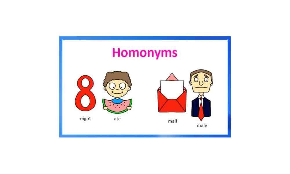 Homonyms - Part2